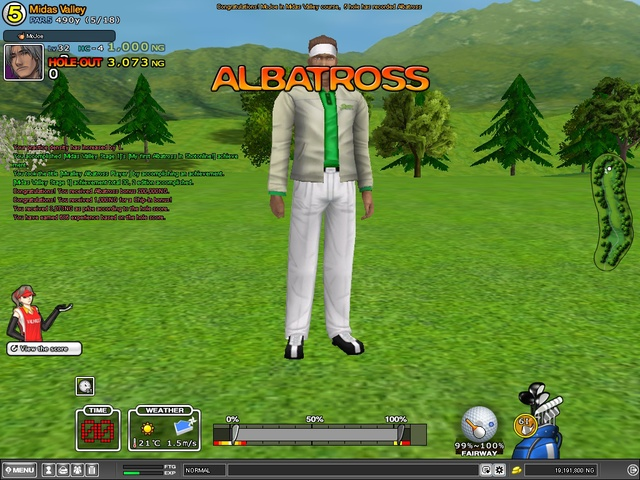 Albatross On Midas Valley