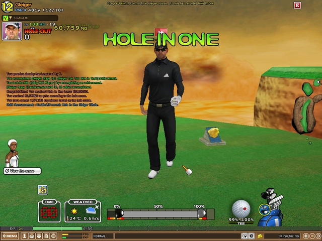 Mastery Gleiger 12 Hole in One