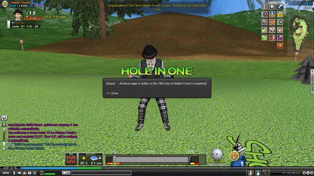HF Hole18 HIO :)
