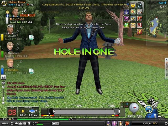 Hio HF hole #13 extreme wind