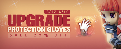 Legend of Edda Upgrade Protection Gloves Sale