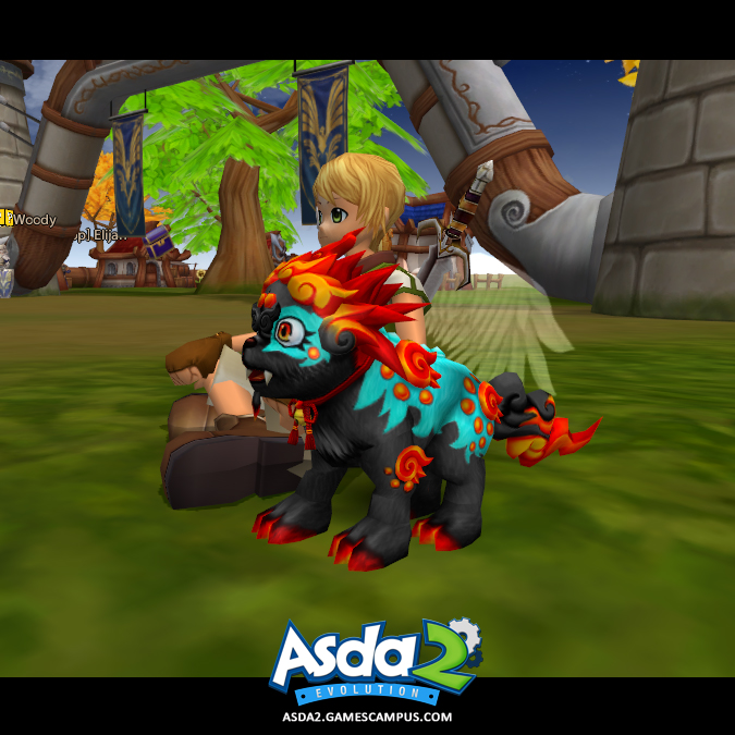 Best Anime MMORPG - Asda 2 - Flame Spirit Pet