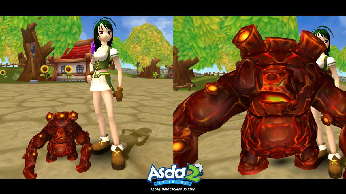 Best Anime MMORPG - Asda 2 - Agnis Pet
