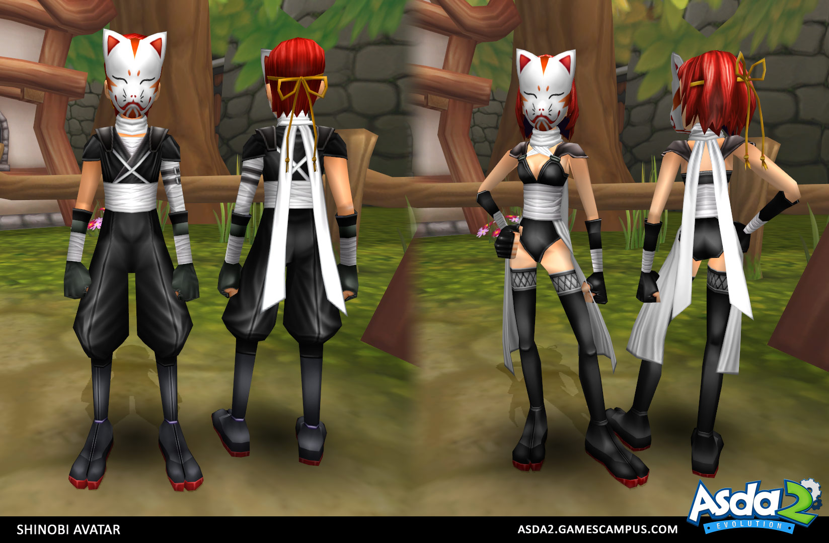 Best Anime MMORPG - Asda 2 - Shinobi Avatar
