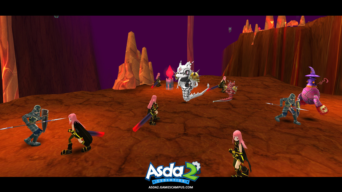 Best Anime MMORPG - Asda 2 - Castle of Chaos