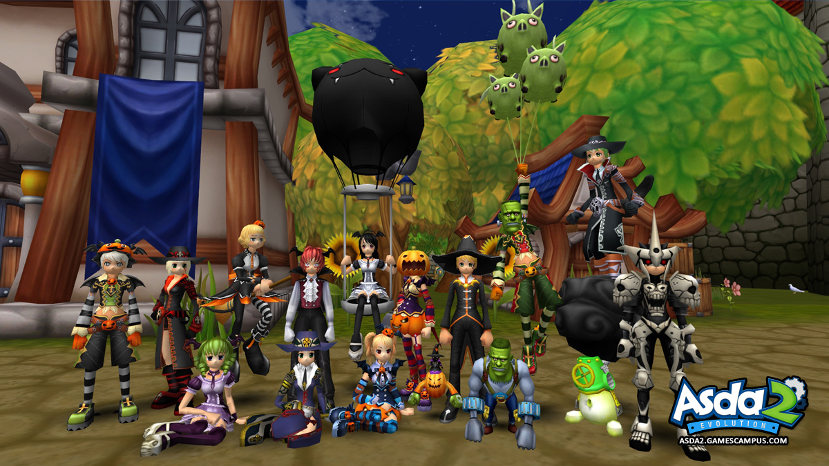 2013 Halloween Events Items