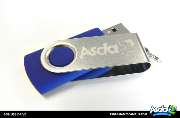 Best Anime MMORPG - Asda 2 - Get Your Swag On USB Drive