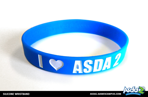 Best Anime MMORPG - Asda 2 - Get Your Swag On Wristband