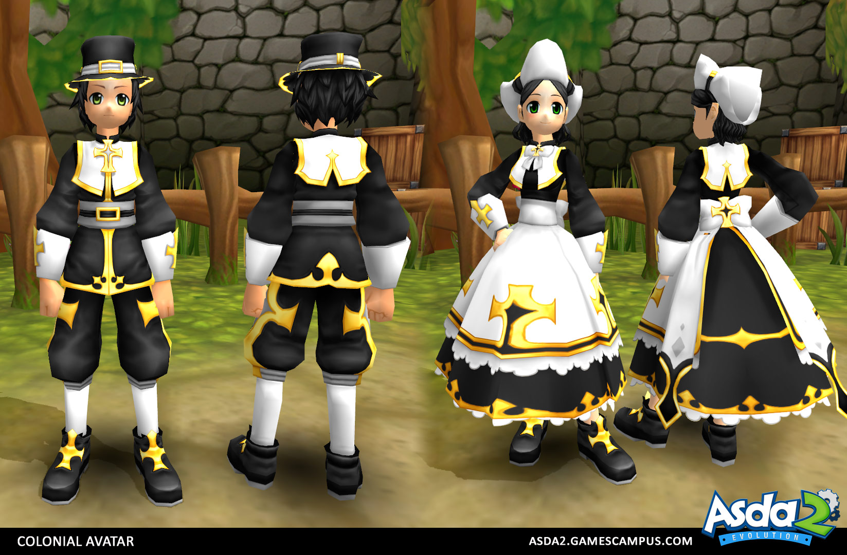 Best Anime MMORPG - Asda 2 - Colonial Avatar