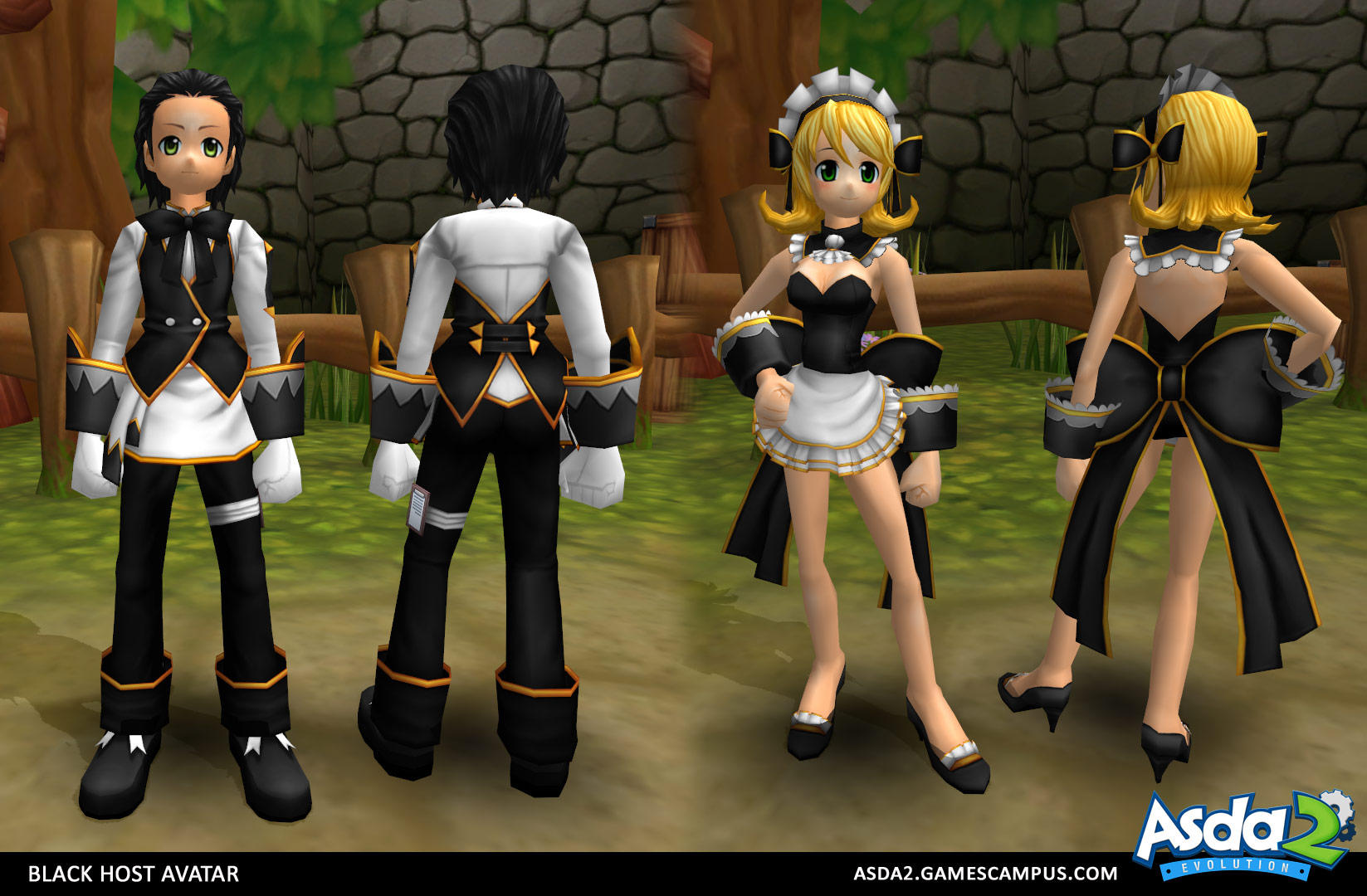 Best Anime MMORPG - Asda 2 - Black Host Set