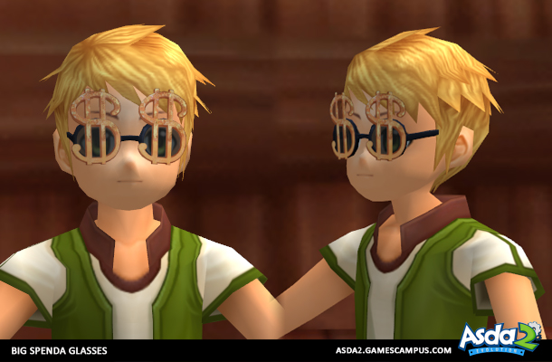 Best Anime MMORPG - Asda 2 - Big Spenda Glasses